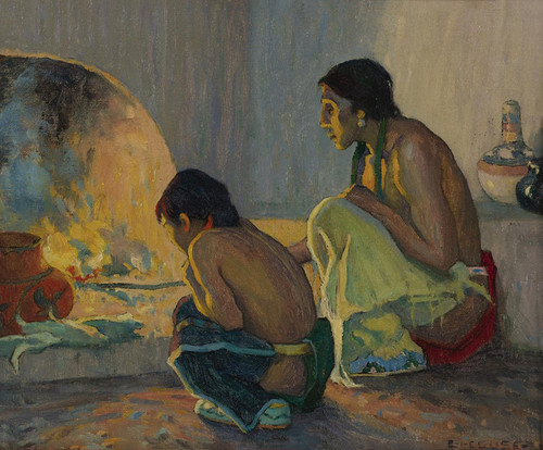 Art Prints of The Evening Meal by Eanger Irving Couse
