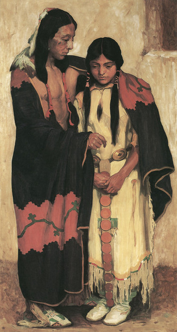 Art Prints of The Wedding by Eanger Irving Couse