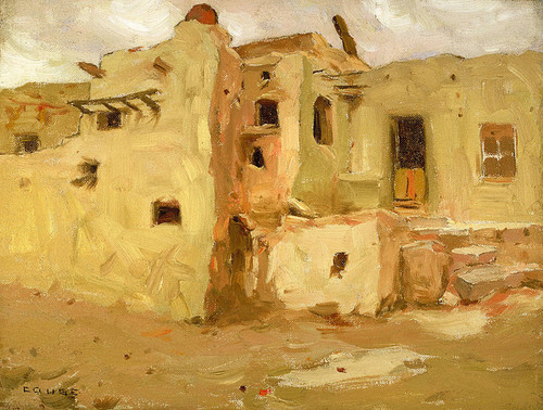 Art Prints of Walpi Pueblo by Eanger Irving Couse