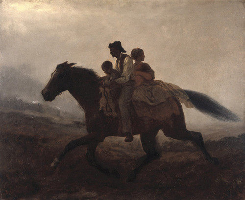 Art Prints of A Ride for Liberty, the Fugitive Slaves by Eastman Johnson