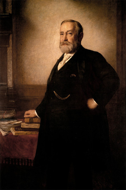Art Prints of Benjamin Harrison by Eastman Johnson
