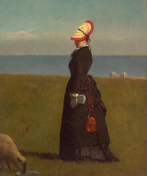 Art Prints of Lambs Nantucket, 1874 by Eastman Johnson