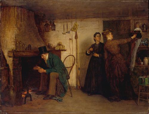 Art Prints of The New Bonnet by Eastman Johnson
