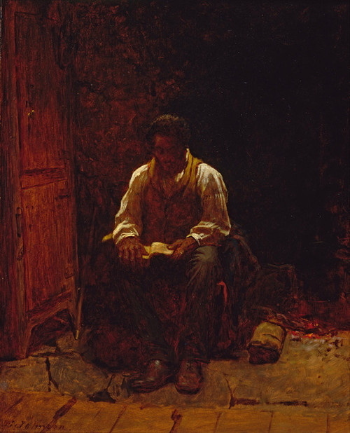 Art Prints of The Lord is my Shepherd by Eastman Johnson