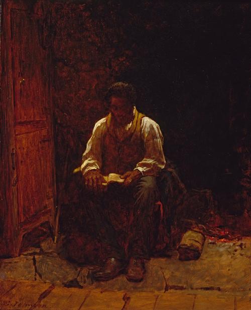 Art Prints of The Lord is my Shepherd by Eastman Johnson