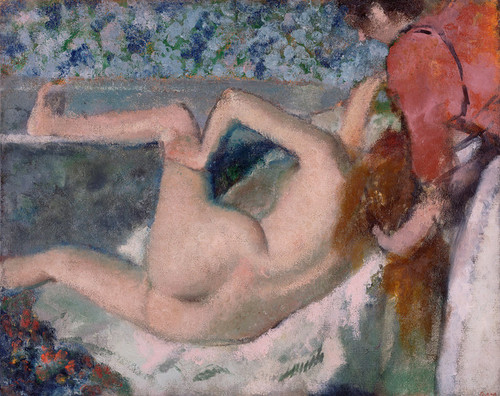 Art Prints of After the Bath by Edgar Degas