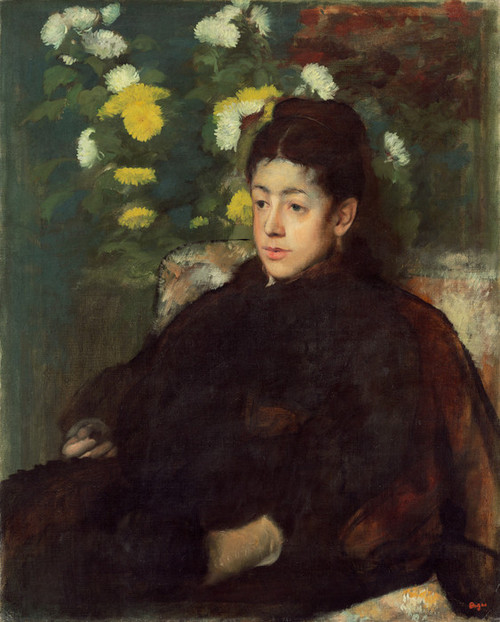 Art Prints of Mademoiselle Malo by Edgar Degas
