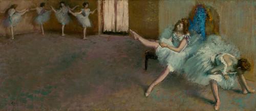Art Prints of Before the Ballet by Edgar Degas