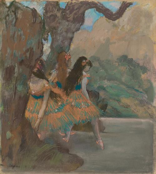 Art Prints of Ballet Dancers by Edgar Degas