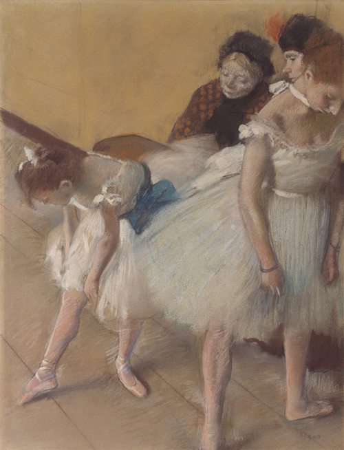 Art Prints of Dance Examination by Edgar Degas