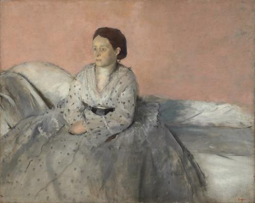 Art Prints of Madame Rene de Gas by Edgar Degas