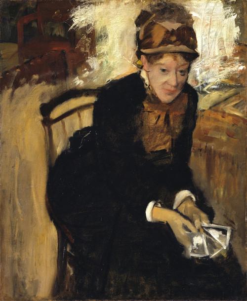 Art Prints of Mary Cassatt by Edgar Degas