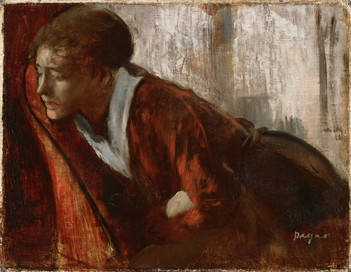 Art Prints of Melancholy by Edgar Degas