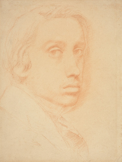 Art Prints of Self Portrait, 1855 by Edgar Degas