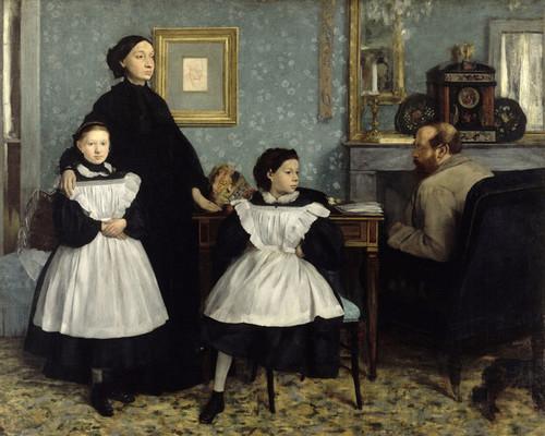 Art Prints of The Bellelli Family by Edgar Degas