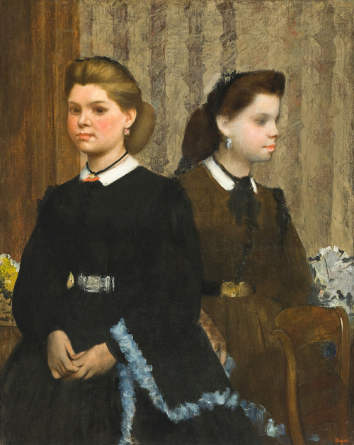 Art Prints of The Bellelli Sisters by Edgar Degas