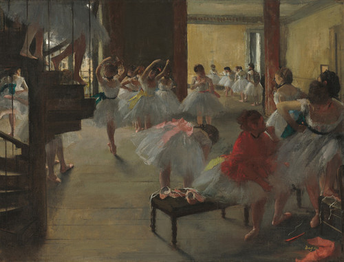 Art Prints of The Dance Class, 1873 by Edgar Degas