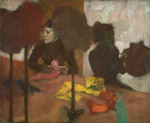 Art Prints of The Milliners II by Edgar Degas