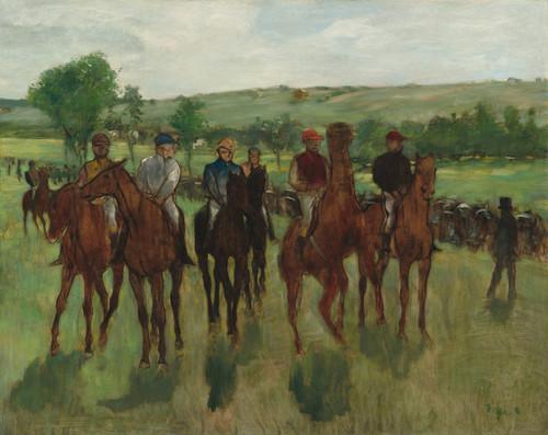 Art Prints of The Riders by Edgar Degas