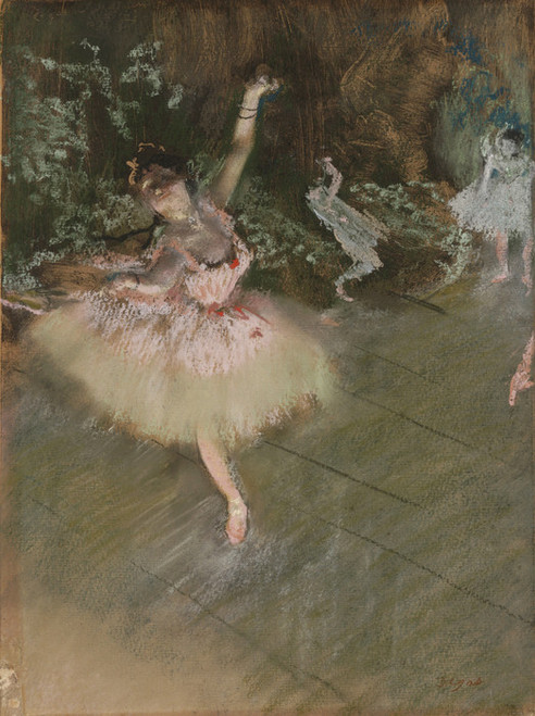 Art Prints of The Star by Edgar Degas