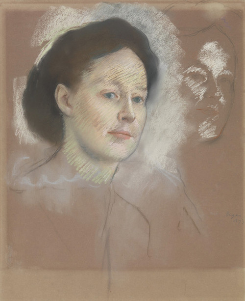 Art Prints of The Artist's Cousin, Mathilde Musson by Edgar Degas