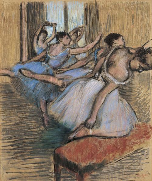 Art Prints of The Dancers by Edgar Degas