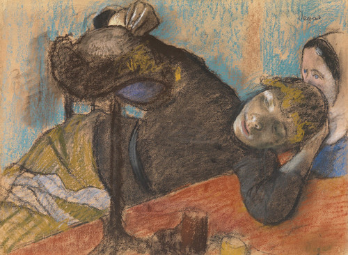 Art Prints of The Milliners by Edgar Degas