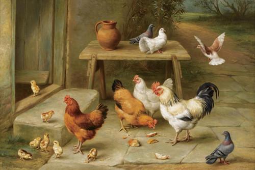 Art Prints of On the Threshold by Edgar Hunt