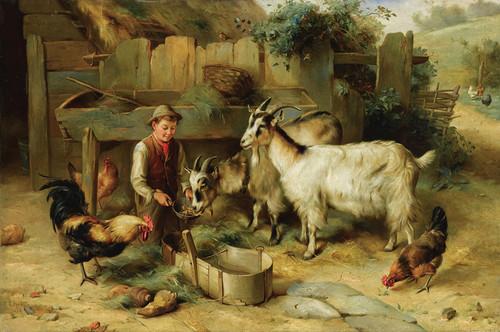 Art Prints of The Farmer's Son by Edgar Hunt