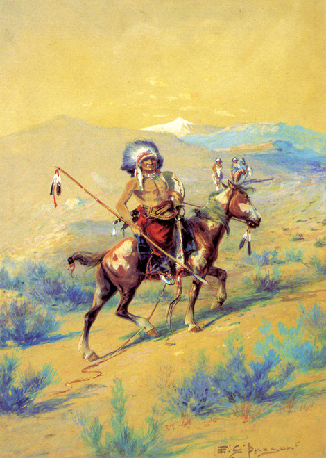 Art Prints of Indian War Party by Edgar Paxson