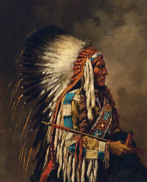 Art Prints of Nez Perce, Chief by Edgar Paxson