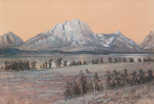 Art Prints of Mt. Moran by Edgar Paxson