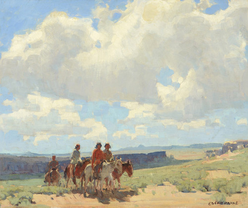 Art Prints of Land of the Navajo by Edgar Payne