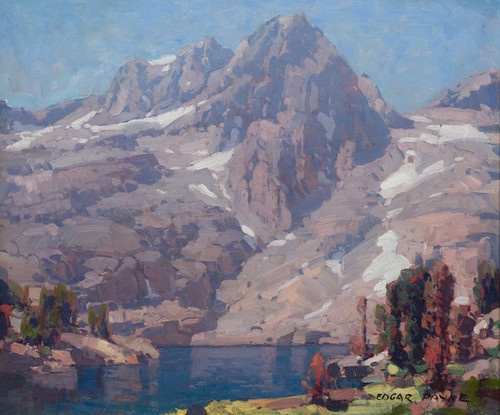 Art Prints of Sierra Lake II by Edgar Payne