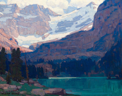 Art Prints of View of the Glacier and Palisades by Edgar Payne