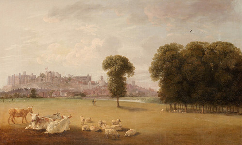 Art Prints of A View of Windsor Castle by Edmund Bristow