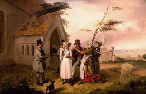Art Prints of The Interrupted Wedding by Edmund Bristow