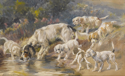 Art Prints of Watering Hole by Edmund Henry Osthaus