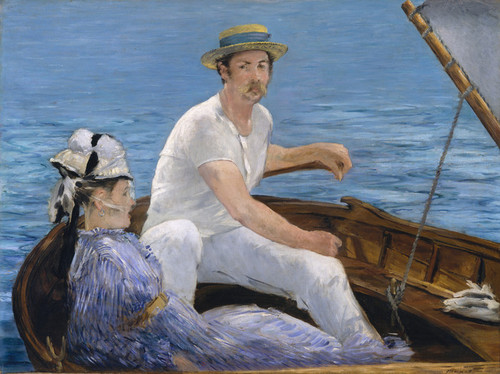 Art Prints of Boating by Edouard Manet