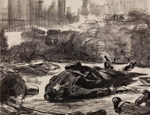 Art Prints of Civil War by Edouard Manet