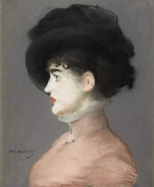 Art Prints of Irma Brunner by Edouard Manet