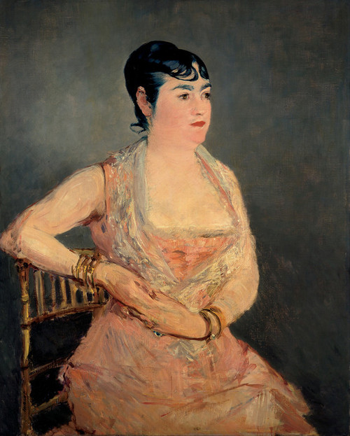 Art Prints of Lady in Pink by Edouard Manet