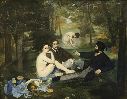 Art Prints of Luncheon on the Grass by Edouard Manet
