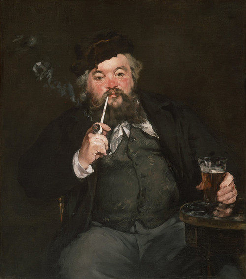 Art Prints of Le Bon Bock by Edouard Manet