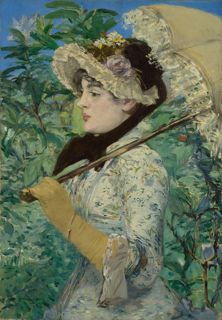 Art Prints of Jeanne Spring by Edouard Manet