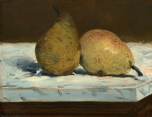 Art Prints of Pears by Edouard Manet
