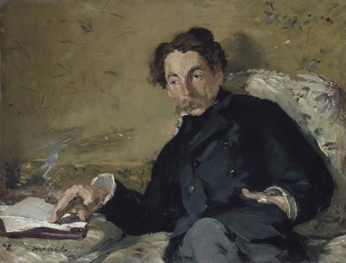 Art Prints of Stephane Mallarme by Edouard Manet