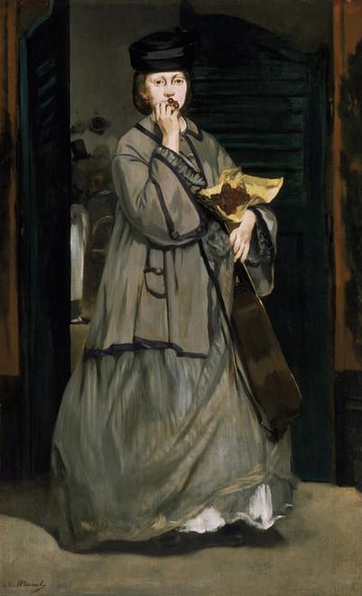 Art Prints of Street Singer by Edouard Manet