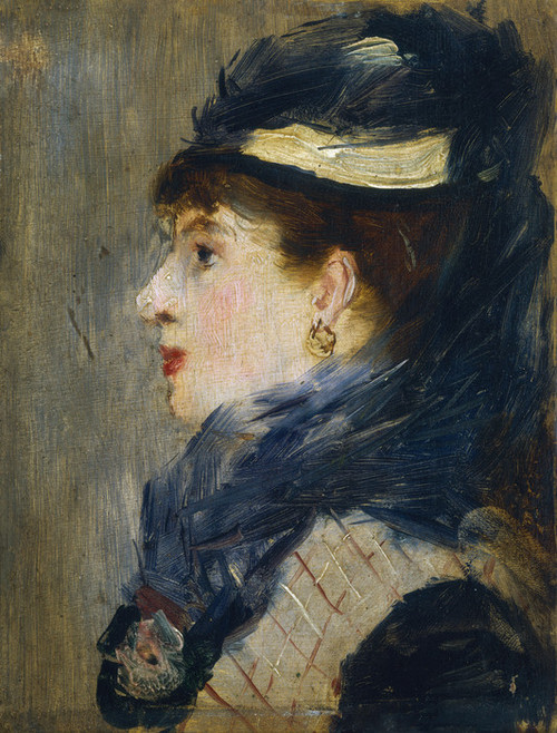 Art Prints of Portrait of a Lady by Edouard Manet