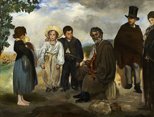 Art Prints of The Old Musician by Edouard Manet